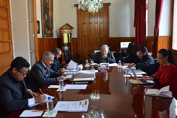 Comisión de Administración del Poder Judicial, realiza sesión ordinaria