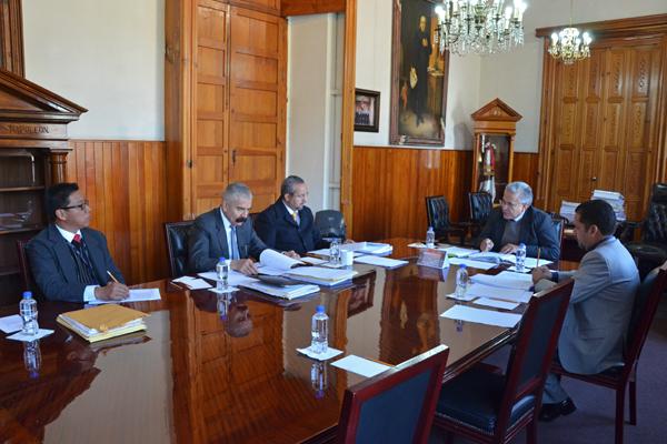 Comisión de Administración lleva a cabo primera sesión de 2018
