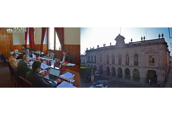 Palacio de Justicia del Centro Histórico, sede de la Comisión de Administración