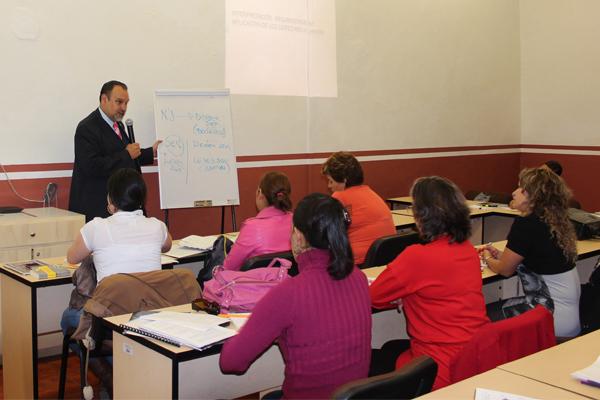 Especialidades, cursos, talleres y diplomados dirigidos a personal de todos los distritos judiciales, así como el proyecto de una Escuela Judicial moderna.