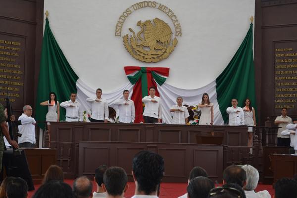 Presidente, consejeros y magistrados participan de conmemoración de 200 años de la expedición del Decreto Constitucional para la Libertad de la América Mexicana