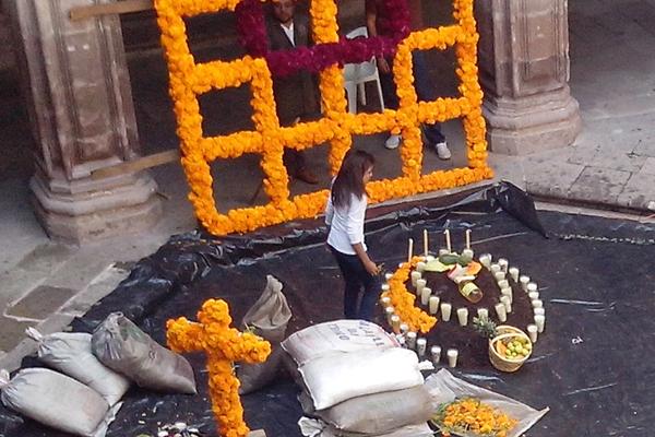 El altar tradicional estará disponible del 31 de octubre al 5 de noviembre