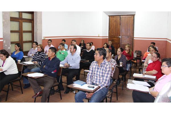 Las actividades de capacitación y actualización se desarrollan en varias sedes judiciales de manera permanente.