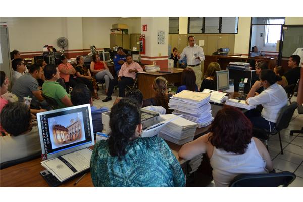 El Poder Judicial de Michoacán, a través de la Coordinación de Seguridad Interna, lleva a cabo de manera constante pláticas informativas en materia de seguridad personal y otros temas de interés, para el personal de áreas administrativas y jurisdiccionale