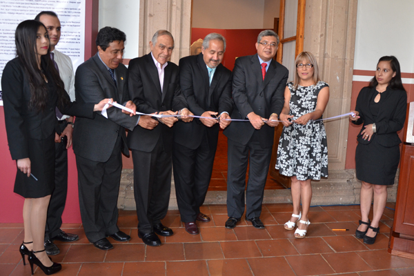 La exposición forma parte de las actividades alusivas al Bicentenario de la instalación del Primer Supremo Tribunal de Justicia de la Nación, en Ario de Rosales