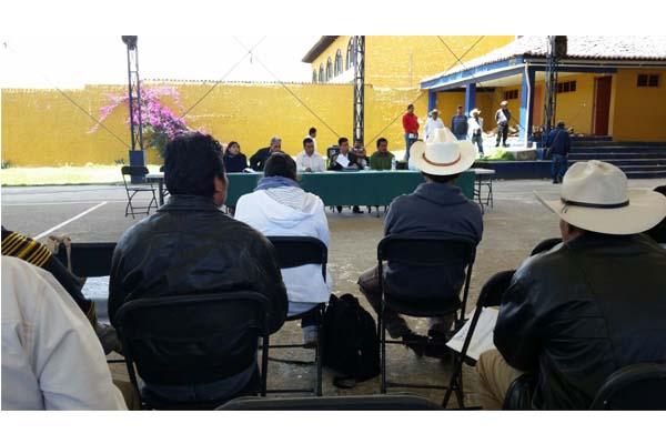 Escuchar necesidades  de las comunidades indígenas en cuanto a servicios de impartición de justicia, le objetivo