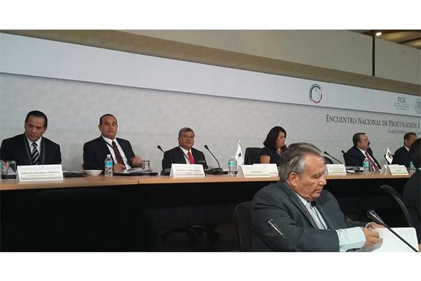 Financiamiento para el Nuevo sistema de justicia penal, entre los temas que se abordan