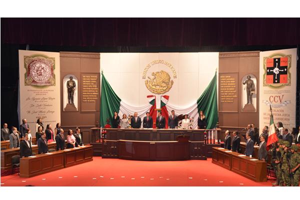 En sesión solemne,  se contó con la presencia de magistradas, magistrados y consejeros de la institución