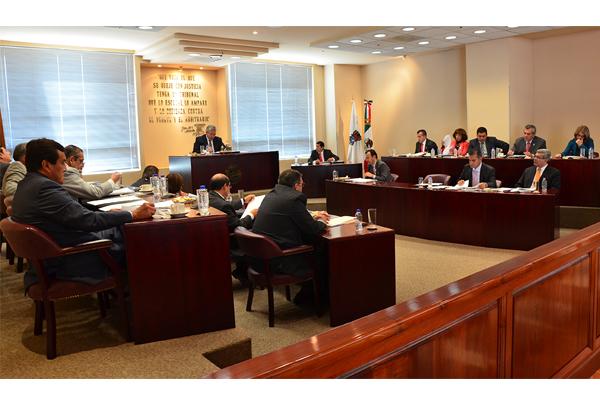 En esta sesión se aprobaron cinco proyectos, los cuales pueden consultarse en la página web de la institución