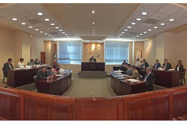 Palacio de Justicia José María Morelos es sede de sesión ordinaria de pleno del STJE