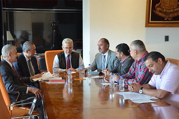 Continuar con trabajo coordinado y supervisión de avances de edificación de Escuela Judicial y salas de oralidad en Lázaro Cárdenas y Zamora, los acuerdos