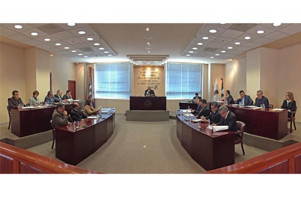 Pleno del STJE realiza sesión ordinaria