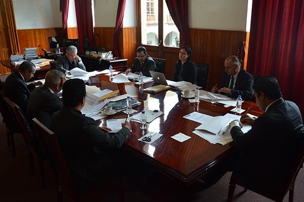 Comité de Adquisiciones del Poder Judicial de Michoacán se reúne en sesión ordinaria