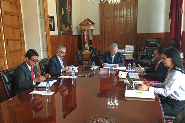 Integrantes de la Comisión de Administración del CPJM realizan sesión ordinaria