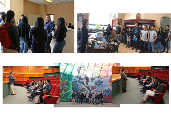 Instituto Ausbel nivel bachillerato visita el Poder Judicial de Michoacán