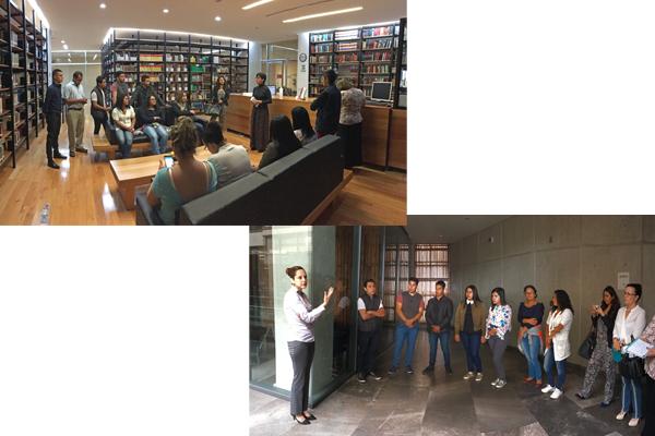 Alumnado del Instituto Osmar recorre la Ciudad Judicial