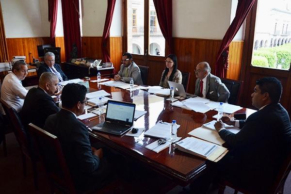 Sesiona Comité de Adquisiciones del Consejo del Poder Judicial de Michoacán
