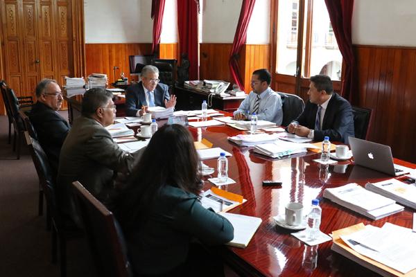 Consejo realiza sesión ordinaria de pleno
