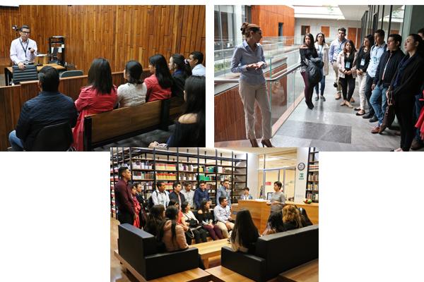 Universidad de Durango realiza segunda visita de las licenciaturas de Derecho y Criminología al PJM