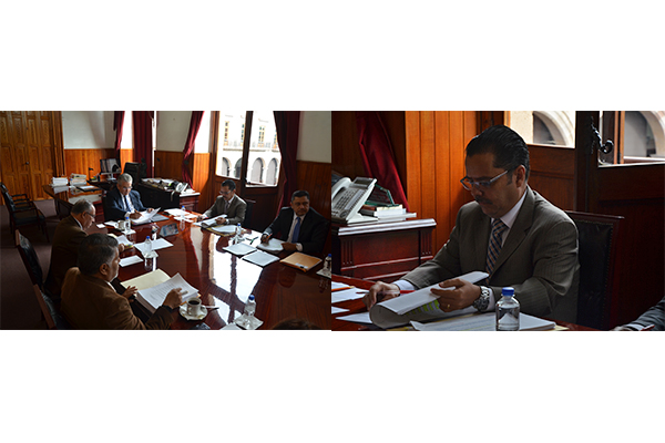 Consejeros del Poder Judicial de Michoacán realizan sesión ordinaria