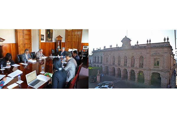 Palacio de Justicia del Centro Histórico, sede de sesión del Consejo