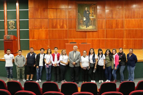 Centro Educativo Blas Pascal conoce el Poder Judicial de Michoacán