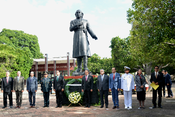 Autoridades en la entidad conmemoran el 208 Aniversario de la Independencia de México