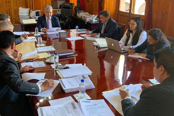 Sesiona Comité de Adquisiciones del Poder Judicial