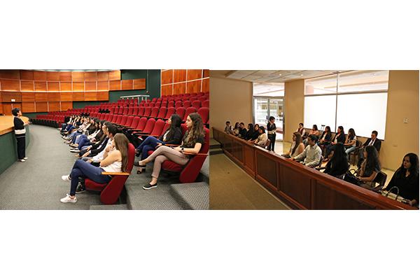 En recorrido por las instalaciones de la Ciudad Judicial en Morelia, alumnado de nivel bachillerato conoce la labor jurisdiccional