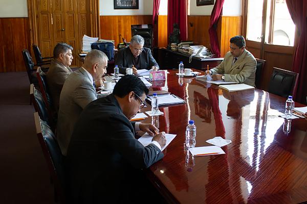 Este lunes la Comisión de Administración realiza sesión ordinaria