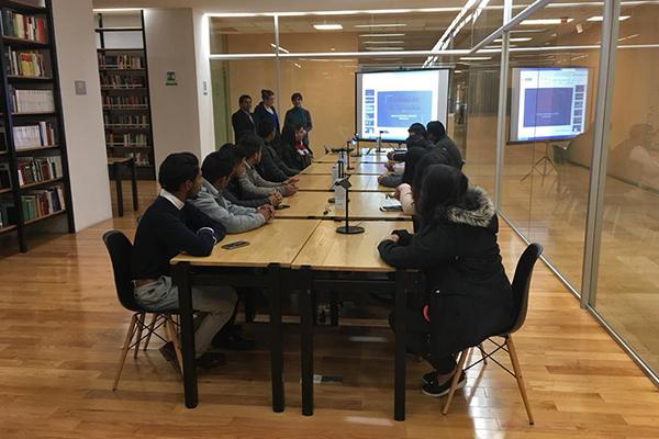 Biblioteca del PJM capacita a alumnado en herramientas de búsqueda