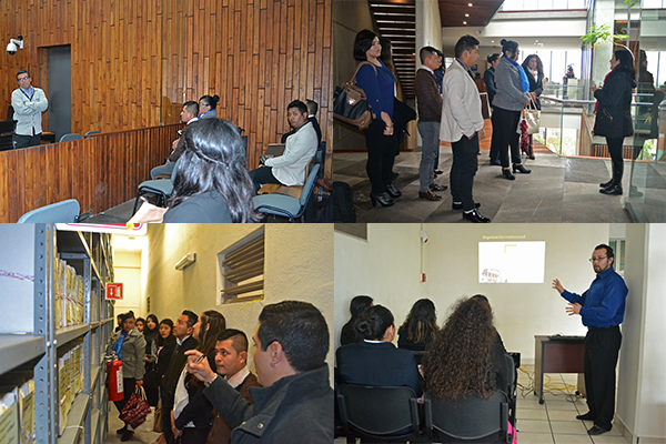 UCLA Maravatío conoce sobre la impartición de justicia en el Poder Judicial de Michoacán