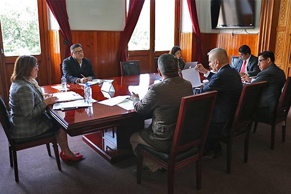 Magistrada María Alejandra Pérez González preside Comité de Adquisiciones, Arrendamientos, Obra Pública y Servicios