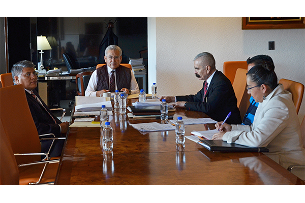 Sesiona Comisión de Administración del Poder Judicial de Michoacán