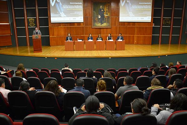 Palacio de Justicia José María Morelos sede de actividad académica sobre Derechos Humanos