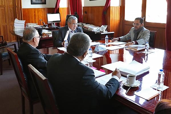Consejo del Poder Judicial de Michoacán realiza primera sesión ordinaria de 2019