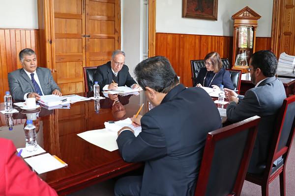 Magistrada María Alejandra Pérez González preside sesión de Consejo