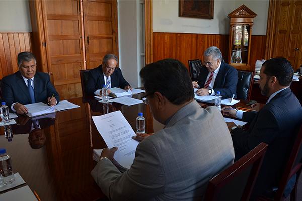 Consejo del Poder Judicial de Michoacán realiza sesión ordinaria de pleno