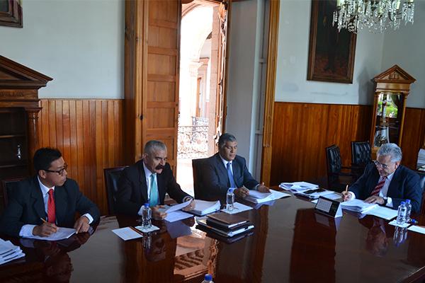 Comisión de Administración se reúne en sesión ordinaria