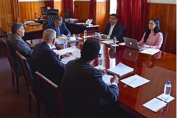 Comisión de Administración, encargada de controlar, dirigir y vigilar las funciones de administración y finanzas del Poder Judicial