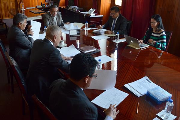 En sesión de Comisión de Administración, consejeros revisan temas financieros de la institución