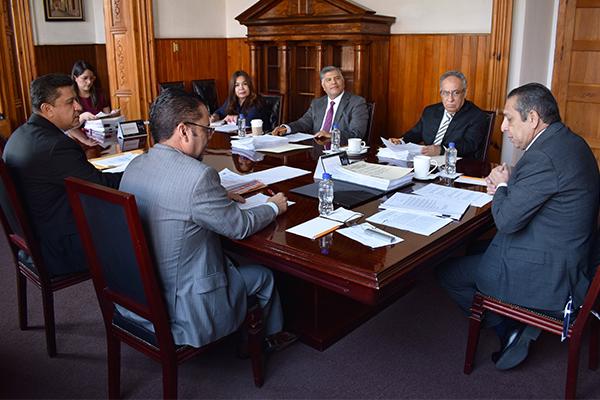 Máximo órgano administrativo del Poder Judicial de Michoacán realiza sesión ordinaria