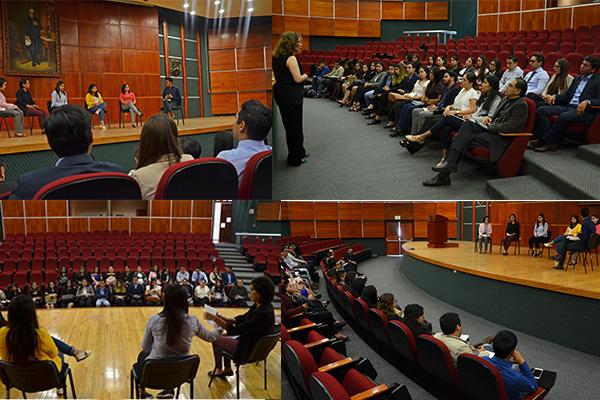 Alumnado de Derecho de la UMSNH refuerza conocimientos en materia de oralidad familiar y mecanismos alternos