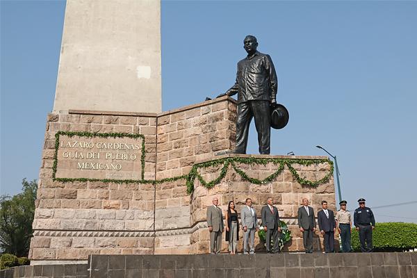 Poder Judicial de Michoacán se une a evento conmemorativo por el 124 aniversario del natalicio del Gral. Lázaro Cárdenas del Río