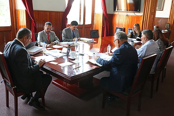 Consejeros realizan sesión de carácter ordinario en el Palacio de Justicia del Centro Histórico