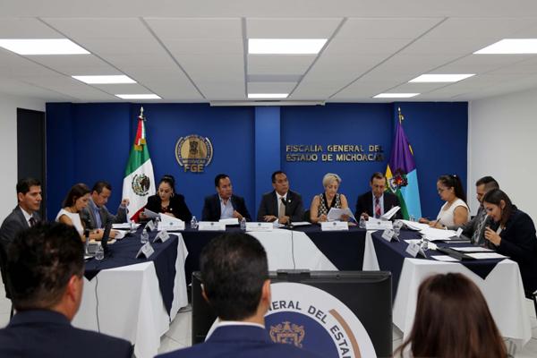 Magistrada Dora Elia Herrejón Saucedo, representante del Poder Judicial de Michoacán en Consejo Consultivo de la Fiscalía General del Estado