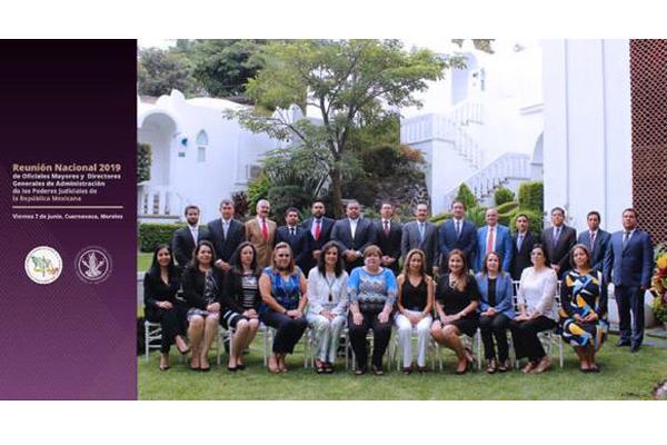 Michoacán, presente en reunión nacional de oficiales mayores y directores de administración de los poderes judiciales