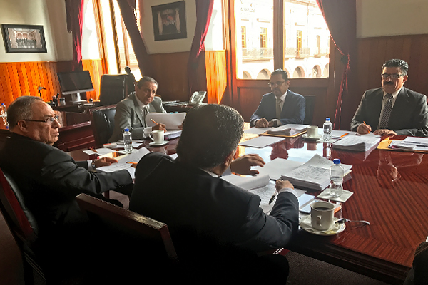 Máximo órgano administrativo del Poder Judicial de Michoacán resuelve asuntos en sesión ordinaria