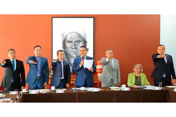 Magistrado presidente Héctor Octavio Morales Juárez rindió protesta como integrante del Sistema Estatal de Víctimas