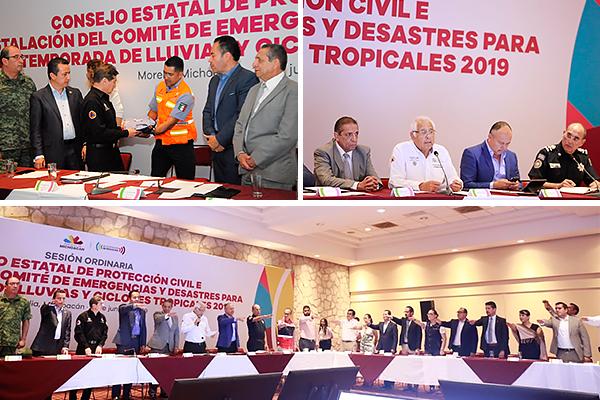 Poder Judicial de Michoacán se integra al Consejo Estatal de Protección Civil